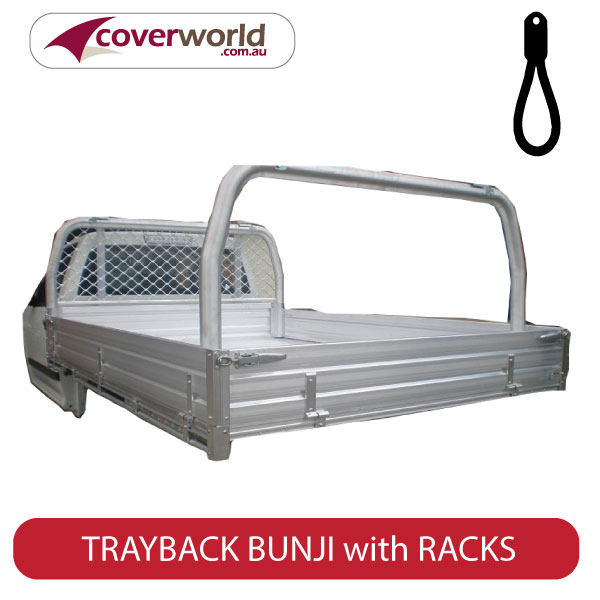 bunji trayback tonneau with racks